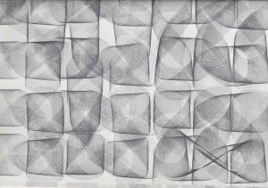 Volker Bussmann Künstler Galerie Zeichnung 12x12-Achten