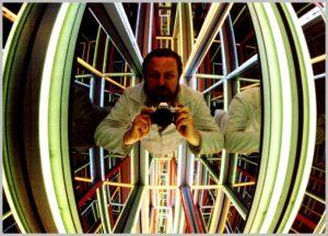 Volker Bussmann Künstler Kunst Licht Installation Im Spacelab Völlig Schwerelos