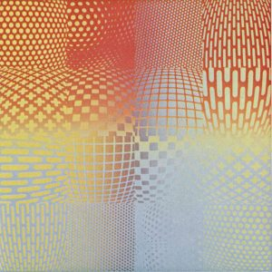 Volker Bussmann Künstler Kunst Op Art Kosmos