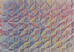 Volker Bussmann Künstler Kunst Kunstharz Auf Papier Faltung Mosaik