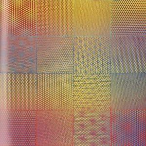 Volker Bussmann Künstler Kunst Op Art Wurzel Punktraster