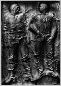 Volker Bussmann Künstler Relief Stadtcowboys