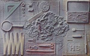 Volker Bussmann Künstler Kunst Relief Stillleben