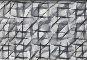 Volker Bussmann Künstler Galerie Zeichnung Strickmuster