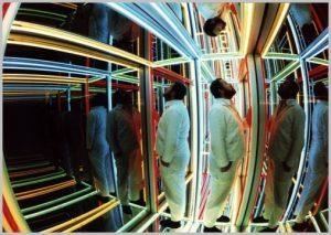 Volker Bussmann Künstler Kunst Licht Installation Bergerstrasse Höhenstrasse Unendlichkeitssimulator