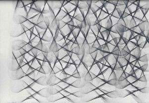 Volker Bussmann Künstler Galerie Zeichnung Verschlingung