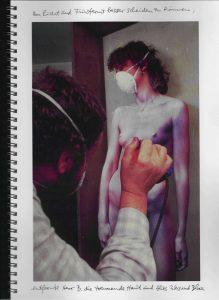 Volker Bussmann Künstler Akt Making Of Spritzfrottage Technik Nude Wohin Geht Die Zeit 10