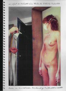 Volker Bussmann Künstler Akt Making Of Spritzfrottage Technik Nude Wohin Geht Die Zeit 4