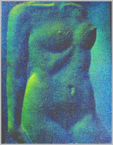 Volker Bussmann Künstler Akt Kunst Nude Relief 2