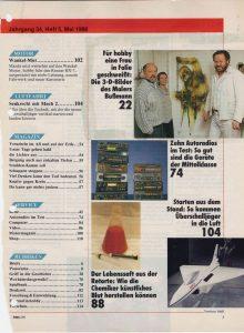 Volker Bussmann Künstler Galerie Presse Hobby Magazin der Technik Intro 2