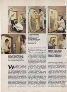 Volker Bussmann Künstler Galerie Presse Artikel Hobby Magazin der Technik 6