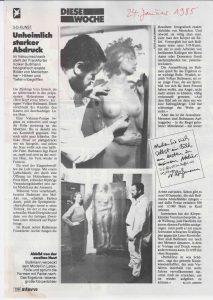 Volker Bussmann Künstler Galerie Presse Artikel Stern Unheimlich Starker Abdruck Seite 2