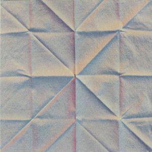Volker Bussmann Künstler Kunst Kunstharz Auf Papier Faltung Serviette