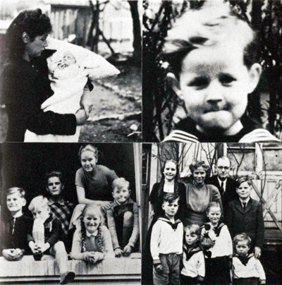 Volker Bussmann Biographie Bilder Kindheit
