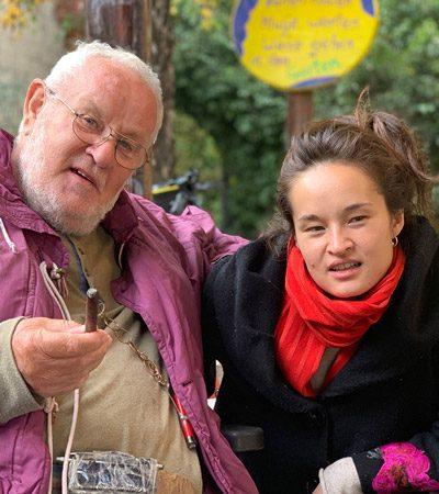 Volker Bussmann Biographie Bilder Porträt mit Tochter Lilly